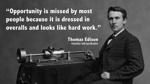 Brand Autopsy Thomas Edison On Hard Work